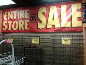 FYE Going Out of Business Sale