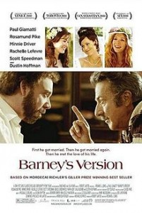 Barney's Version (short review)