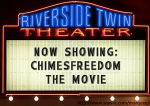 Chimesfreedom Blog To Be Made Into a Movie!