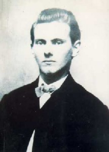 Jesse James Born Today in the County of Clay