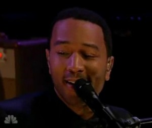 "John Legend and The Roots Perform ""Dancing in the Dark"""