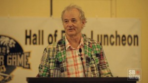 South Atlantic League Inducts Bill Murray Into Hall of Fame