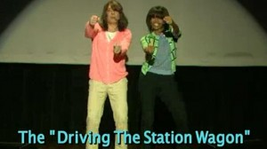 """Michelle Obama and Jimmy Fallon on the """"Evolution of Mom Dancing"""""""