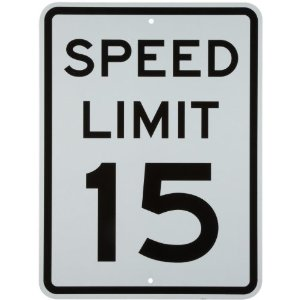 U.S. Speed Limits and I Can't Drive . . . 15?