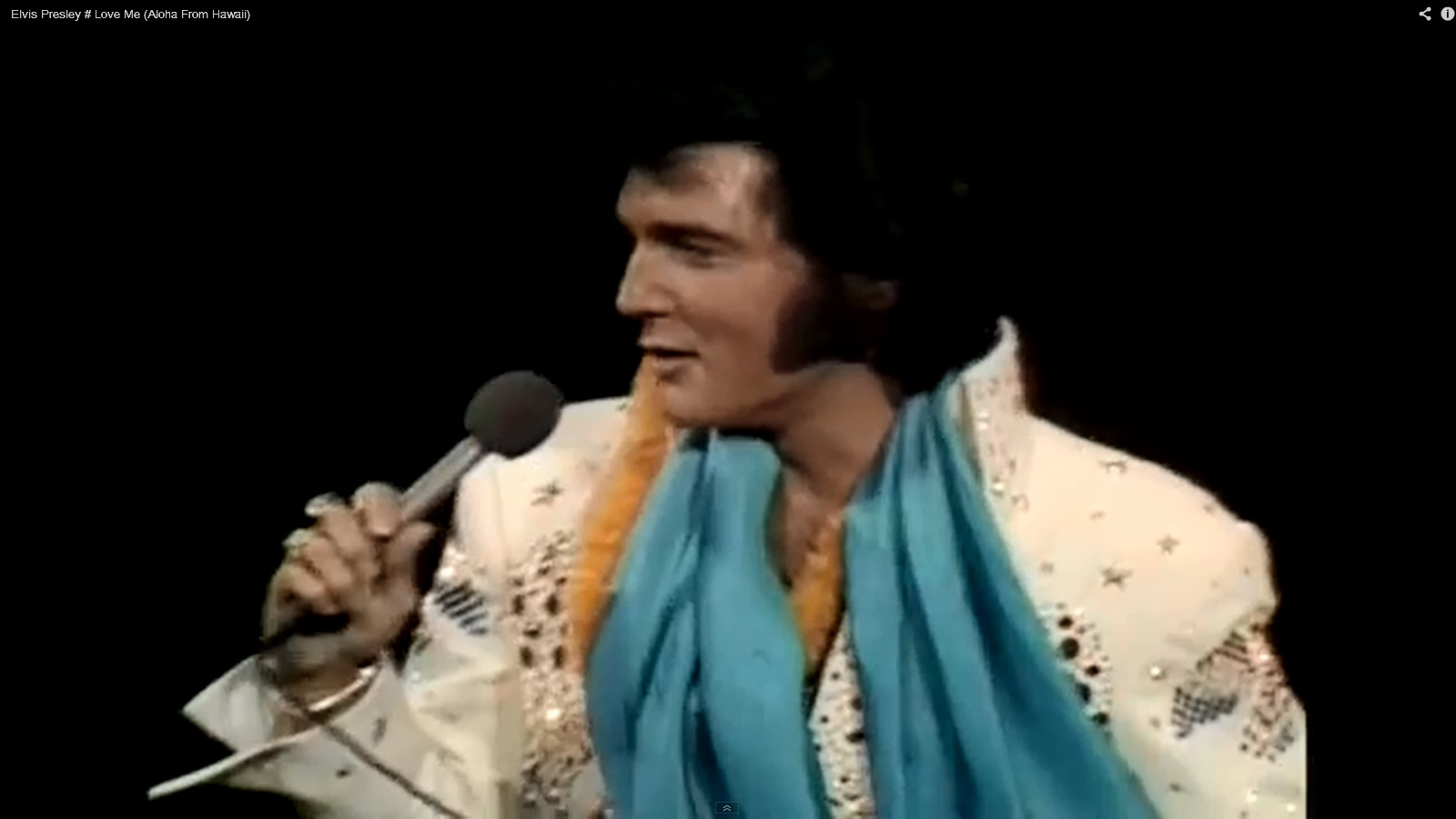 elvis and his scarves