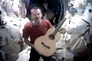 "Singing ""Space Oddity"" In a Tin Can Far Above the World"