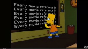 "Movie References in ""The Simpsons"""