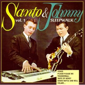 "That 1950s Instrumental Hit Known as ""Sleep Walk"""