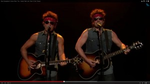 Springsteen and Fallon as Two Springsteens Stuck in a Traffic Jam