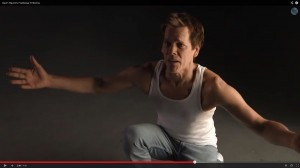"Kevin Bacon Reprises ""Footloose"" Protest on Tonight Show"