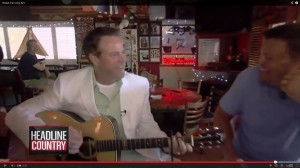 "Robert Earl Keen Writes ""Buried in the Bar"" on the Spot"