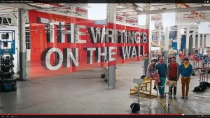 "Another OK Go Mesmerizing Video: ""The Writing's On the Wall"""
