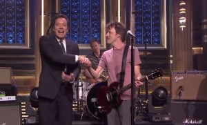 "Reunited Replacements on ""The Tonight Show"""