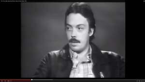"Tim Curry on ""The Rocky Horror Picture Show"" in 1975"