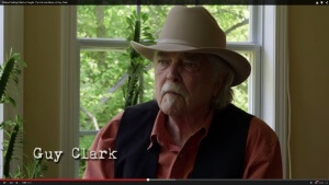 Guy Clark to Be Focus of New Book and Documentary
