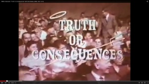 "Bob Barker: ""Truth or Consequences"""