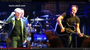 Springsteen Joins U2 at Madison Square Garden