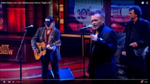 "Willie Nelson and John Mellencamp Sing ""Night Life"""