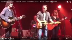 Bruce Springsteen Takes It Easy With Jackson Browne