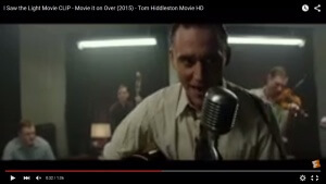 Preview of Tom Hiddleston as Hank Williams