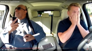 Carpool Karaoke With Stevie Wonder