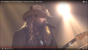 "Chris Stapleton & Justin Timberlake: ""Tennessee Whiskey"""