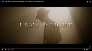 "Trailer for Hank Williams Biopic ""I Saw the Light"""
