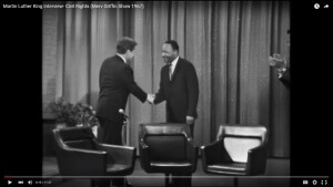 "Martin Luther King Jr. on ""The Merv Griffin Show"""