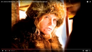 """What Song Did Jennifer Jason Leigh Sing in """"The Hateful Eight""""?"""