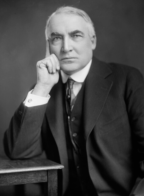 Warren G. Harding: Worst President, Reassessed Politician, and Sexy Man