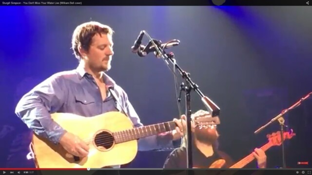 "Sturgill Simpson: ""You Don't Miss Your Water"""