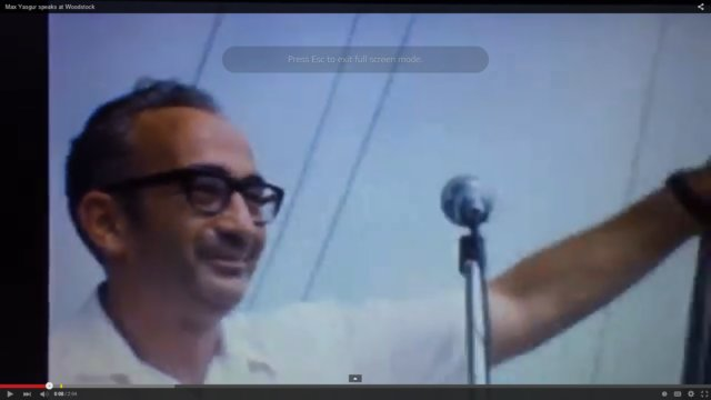 Max Yasgur, the Farmer Behind Woodstock