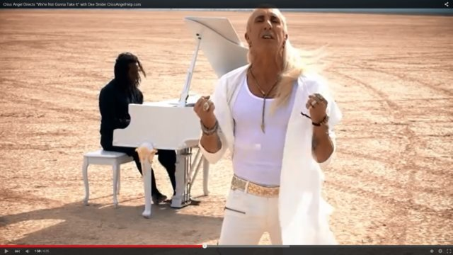 """Dee Snider's Acoustic """"We're Not Gonna Take It"""" For a Good Cause"""