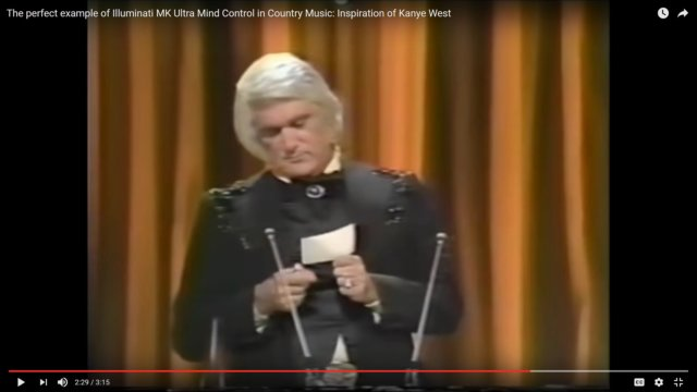 Charlie Rich Sets Fire to CMA Entertainer of the Year Announcement