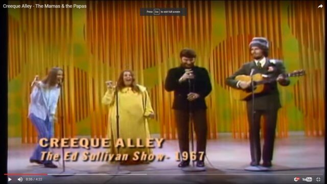 "What Are The Mamas & the Papas Singing About in ""Creeque Alley""?"