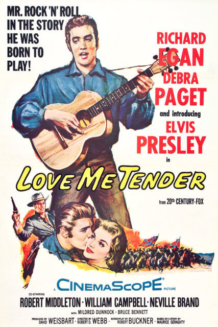 "Elvis Presley's Movie Debut: ""Love Me Tender"""