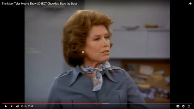 "The Mary Tyler Moore Episode, ""Chuckles Bites the Dust"""