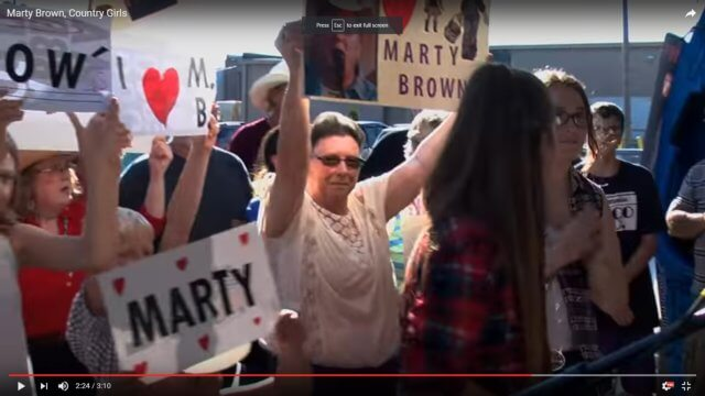 "New Video from Marty Brown: ""Country Girls"""