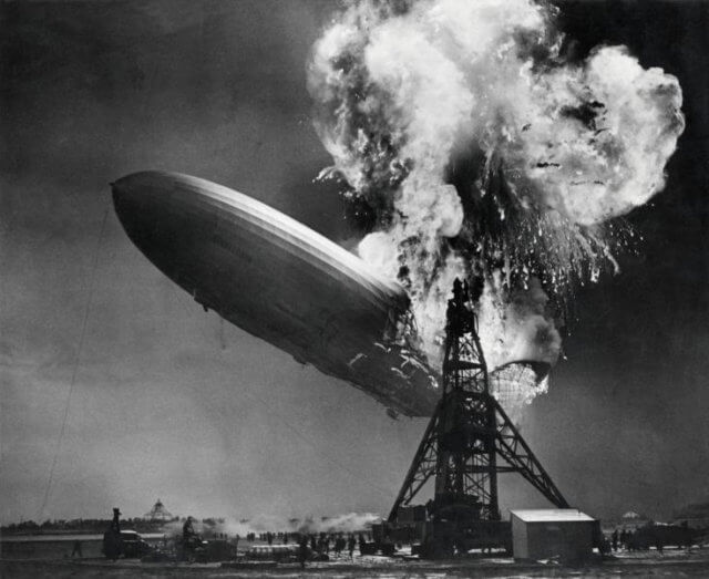 """Lead Belly: """"The Hindenburg Disaster"""""""