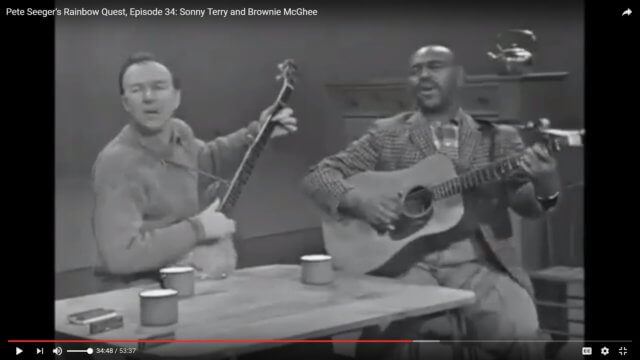Pete Seeger: Down By the Riverside
