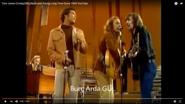 Crosby, Stills, Nash, Young & . . . Tom Jones?