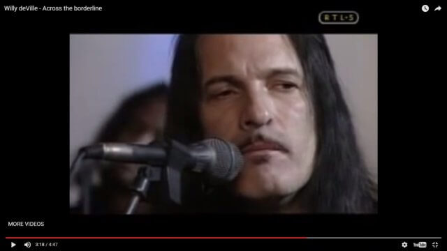 "Song of the Day: Willy DeVille's Cover of ""Across the Borderline"""