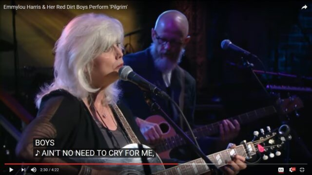 "Emmylou Harris Covers Steve Earle's ""The Pilgrim"""