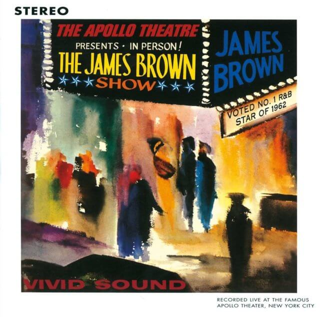 James Brown Records Live at the Apollo: Oct. 24, 1962