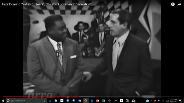 "Fats Domino on ""The Perry Como Show"""