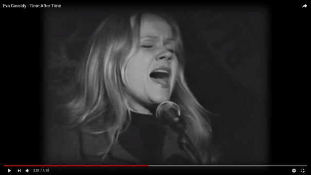 """Eva Cassidy: """"Time After Time"""""""
