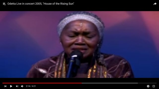 Andrea martin archives chimesfreedom song of the day odetta sings house of the rising sun live solutioingenieria Gallery
